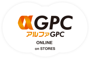 アルファGPC ONLINE on STORES ロゴ